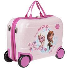 چمدان کودک مدل Anna and Elsa