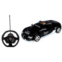ماشين بازي کنترلي اي پي تويز مدل Police Car Bugatti Veyron
