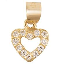 Rosa N020 Gold Necklace Pendant Plaque