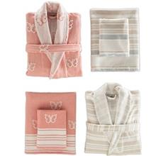 Sarev 6 Pieces Herra Bathrobe Towel Set