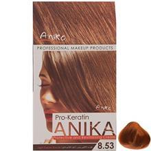 کیت رنگ مو آنیکا سری Pro Keratin مدل Cacao شماره 8.53