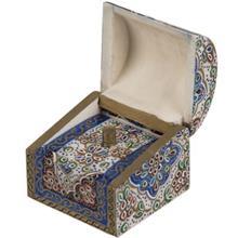 جعبه استخواني اثر بهشتي طرح تذهيب 4 سايز کوچک