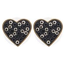 گوشواره اليور وبر مدل Lucky Heart Gold Metallic 22415G