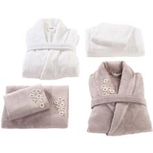 Sarev 6 Pieces Cherry Bathrobe Towel Set