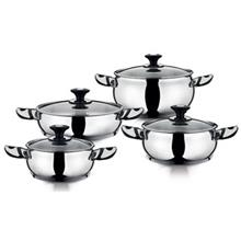 Hascevher Anemon 10 Pieces Cookware Set