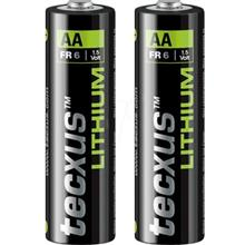 Tecxus Lithium AA Battery - Pack of 2