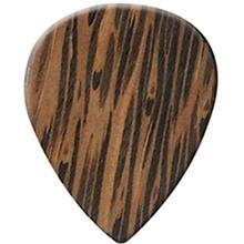 Clayton Exotic Wedge WWS3 Guitar Wood Picks 3 Pack