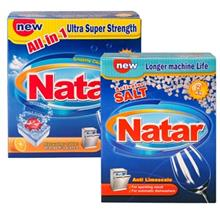 Natar 2 pieces Detergents For Dishwashers Bundle Code 11