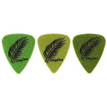 Clayton UKL3 Ukulele Picks 3 Pack