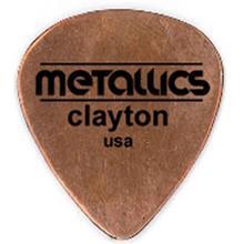 پيک گيتار الکتريک کلايتون مدل نازک Copper Metallics بسته سه عددي