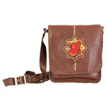 کیف چرم دستدوز دیبا کد 178004 دوشی