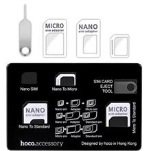 Hoco Card Set Micro and Nano SIM Card Adapters