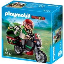ساختني پلي موبيل مدل Explorer with Motorcycle 5237