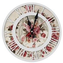 ساعت  ام دی اف گالری کارن دکور دایرهای سایز کوچک