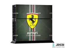 کاور اسکین کنسول بازی پلی استیشن 4 PS4 Skin Ferrari