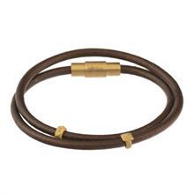 دستبند طلا کیا گالری مدل دو مهره