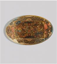 تابلو ورق طلا  طرح فرش پارسی