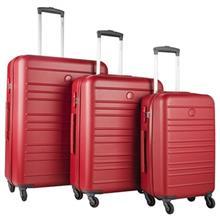 مجموعه سه عددی چمدان دلسی مدل Carlit