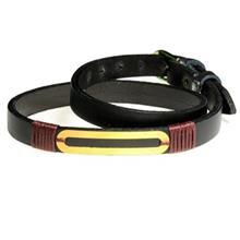 دستبند طلا 18 عیار سیم و گوهر مدل GLP113