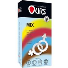 کاندوم ساده اورز مدل Mix بسته 12 عددي