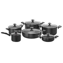 Karal Hardanodized Repal Cookware Set 12 Peices
