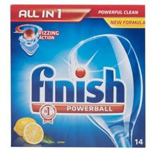 Finish All In 1 Dishwasher Tablets Pack Of 14
