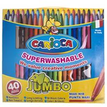 Carioca Jumbo 40 Color Painting Marker