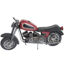 موتور دکوري مدل موتور سيکلت کلاسيک با باک بزرگ