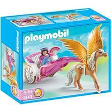 ساختني پلي موبيل مدل Princess with Pegasus Carriage 5143