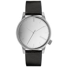 Komono Winston Mirror Silver Black Watch