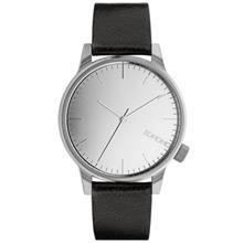Komono Winston Mirror Silver Black Watch