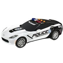 Toy State Chevy Corvette C7 Police Toys Car