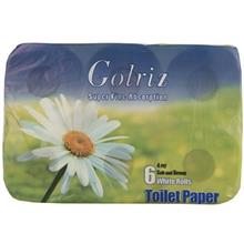 Golriz Embossed Toilet Tissues Pack Of 6