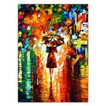 تابلوی ونسونی طرح Rain Princess سایز 50x70