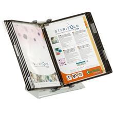 پايه نگهدارنده کاغذ روميزي تاريفولد مدل Sterifold Anti Microbe به همراه 10 کاور