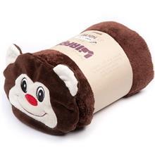 Afra Brown Monkey Baby Blanket