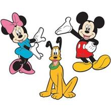 استیکر رومیت مدل Mickey And Friends Foam Characters