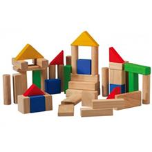 Plan Toys 50 Blocks Educational Game