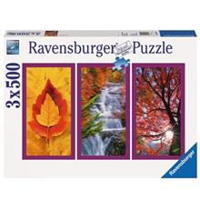 Ravensburger Autumn Impressions 3 x 500 Puzzle 1500 Pcs