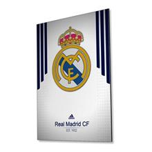 تابلوی ونسونی طرح Real Madrid White 2016 سایز 30x40