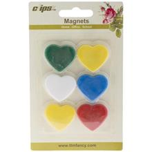 Clips 100552 Magnet - Pack of 6