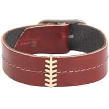دستبندطلا 18 عیار کارین مدل 177026 طرح گندم شوش