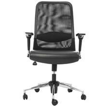 صندلی اداری راد سیستم مدل E345R1 چرمی