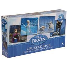 Cardinal Disney Frozen 4 x 12 Puzzle 48 Pcs