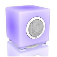 KitSound Glow Bluetooth Speaker With Remote Control & Configurable Light Display