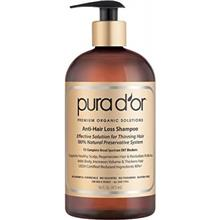 شامپو ضد ریزش مو ارگانیک Pura D or Anti-Hair Loss Premium Organic Argan Oil Shampoo