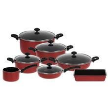 Zarsab NS-4400 Cookware Set 12 Pieces