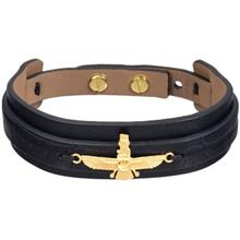 دستبند طلا 18 عیار تاج درسا مدل 171