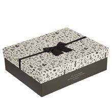 جعبه کادويي طرح برگ 3