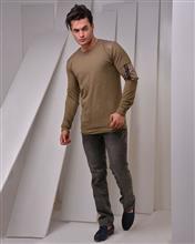 تی شرت مردانه آستین بلند MW مدل 8041